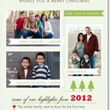 Happy Highlights Holiday Photo Cards