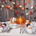 Modern Thanksgiving Tablescape
