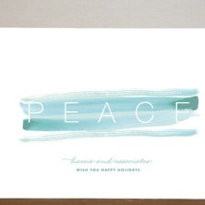 Peace & Quiet Business Holiday Cards