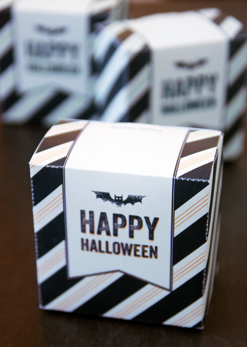 Free Printable Happy Halloween Boxes