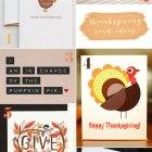 Thanksgiving Card Ideas