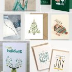 Illustrated and Hand Lettered Holiday Cards