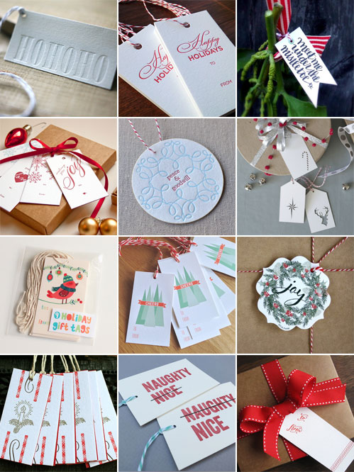 A Collection of Holiday Gift Tags 2