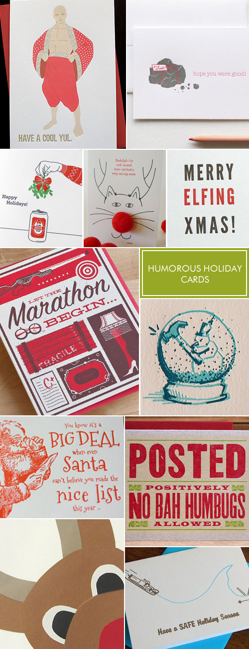 Humorous Holiday Cards