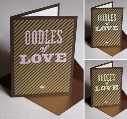 Chocolate Inspired Valentine's Day Cards