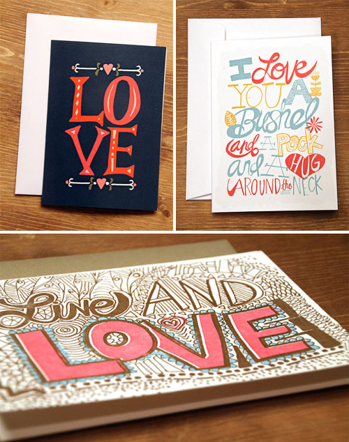 Thimble Press Valentine's Day Cards