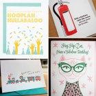 Fun, Modern Birthday Cards