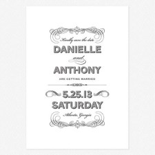Lovely Vintage Save the Date Cards