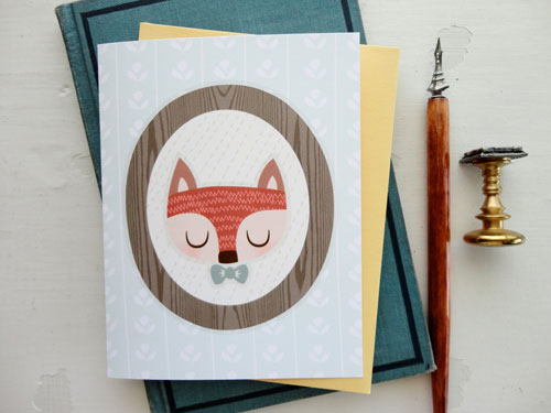 Cute Note Cards | Isabell's Umbrella