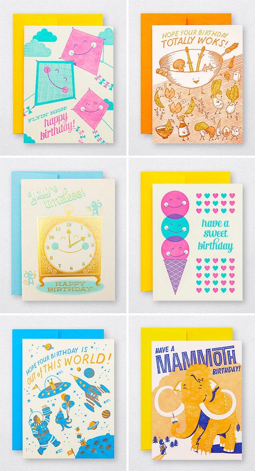 Fun Illustrated Birthday Cards | Hello! Lucky