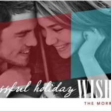 Blissful Days Holiday Photo Cards