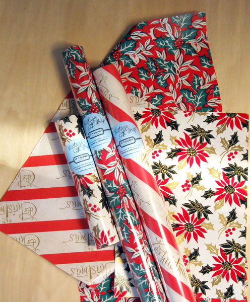 Vintage Gift Wrap | If Found Please Return