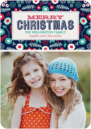 Lush Christmas Photo Cards