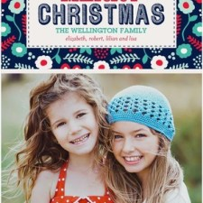 Lush Christmas Photo Cards