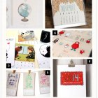 2014 Illustrated Calendars as seen on papercrave.com