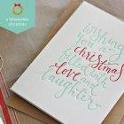 Letterpress Christmas Card | Bespoke Press