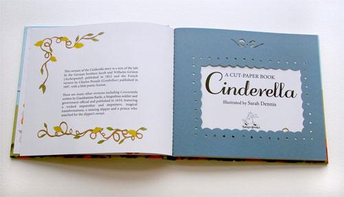 Cinderella : A Paper-cut Book | Sarah Dennis (artist)