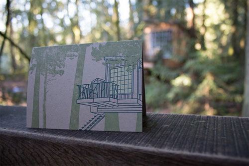 Treehouse Letterpress Card | Constellation & Co.