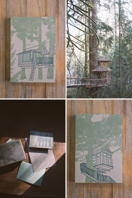 Treehouse Letterpress Notebooks & Cards | Constellation & Co.