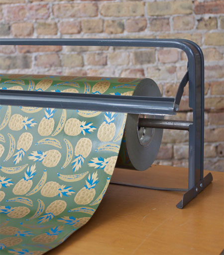 Vintage Pineapples and Bananas Wrapping Paper | Department Chicago