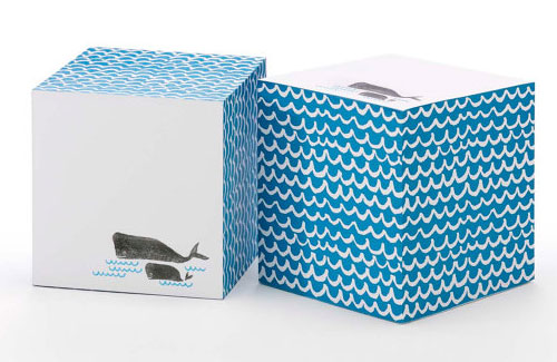 Whales Sticky Note Cube | Ilee
