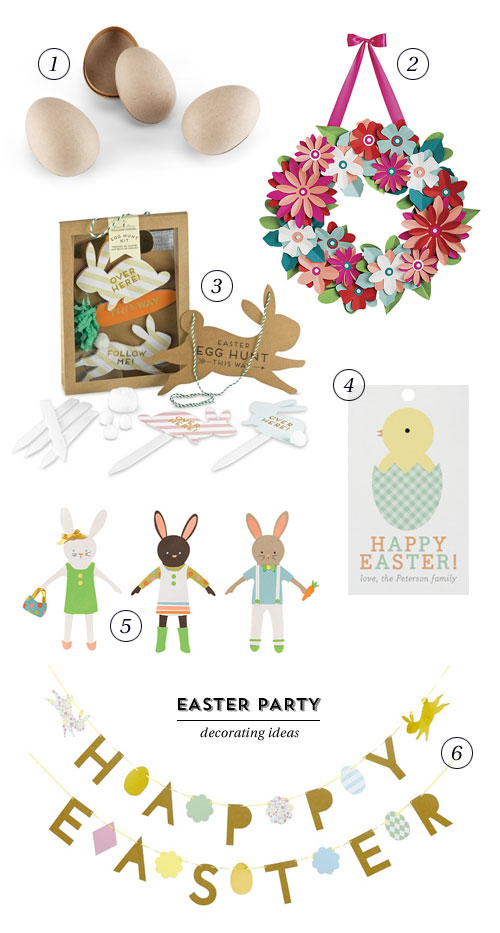 Easter Party Decorating Ideas as seen on papercrave.com