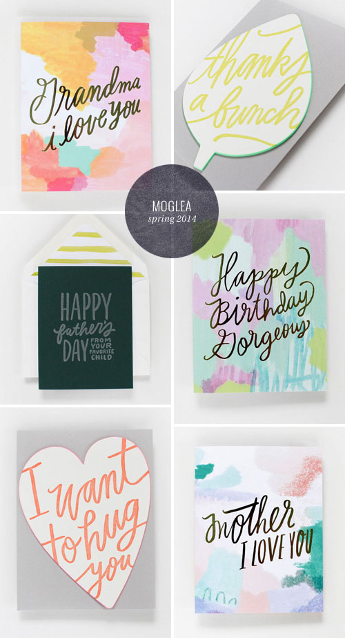 Moglea Spring 2014 Collection as seen on papercrave.com