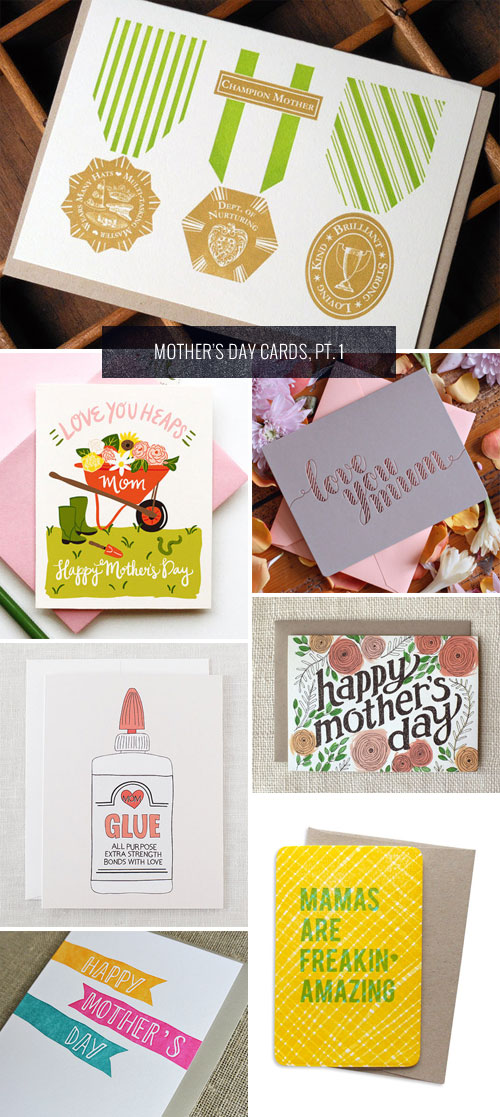 Mother's Day Cards, Pt. 1 as seen on papercrave.com