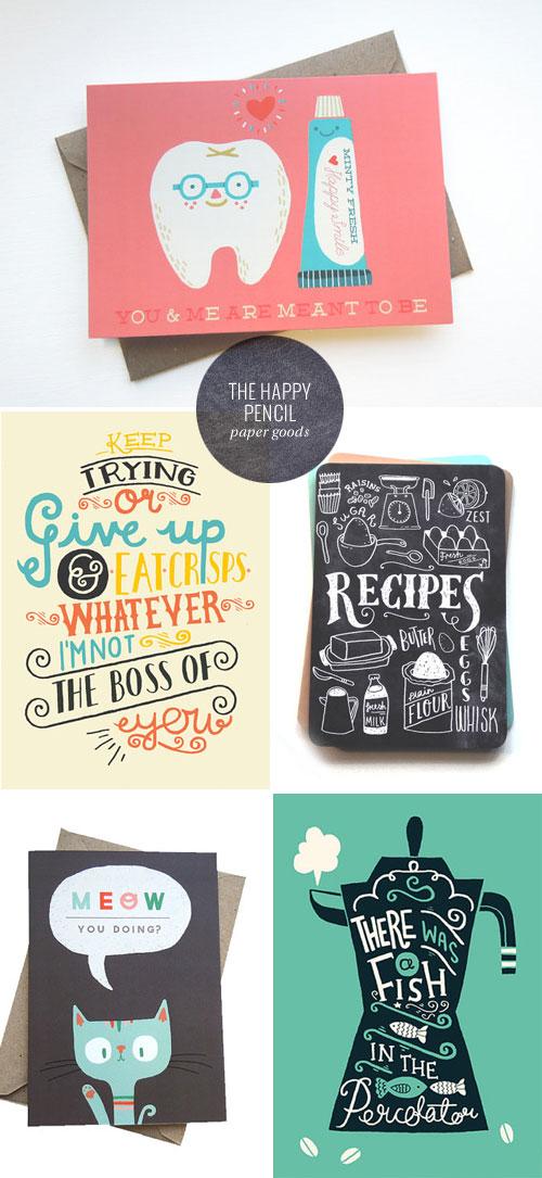 The Happy Pencil Paper Goods