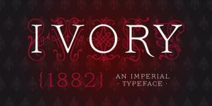 Ivory Font by FaceType
