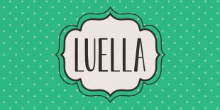 Luella Font by Cultivated Mind