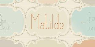 Matilde Font by Typedepot
