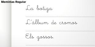 Memimas Font by Type-O-Tones