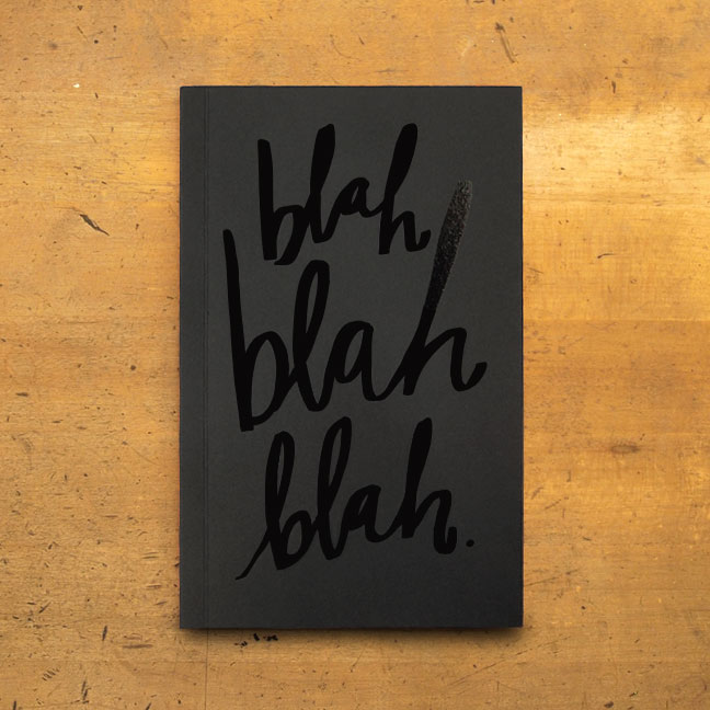 Blah Blah Blah Journal | Easy, Tiger
