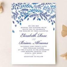 China Plate Wedding Invitations by Ariel Rutland