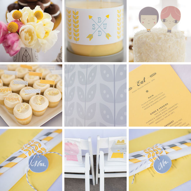 Suzy Ultman's Lovely Wedding Decorations