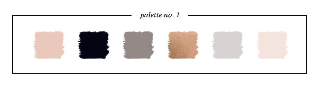 Winter & Holiday 2014 -2015 Inspired Color : Palette No. 1