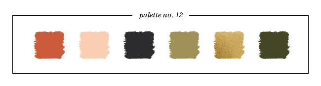 Winter & Holiday 2014 -2015 Inspired Color : Palette No. 12