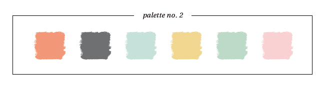 Winter & Holiday 2014 -2015 Inspired Color : Palette No. 2