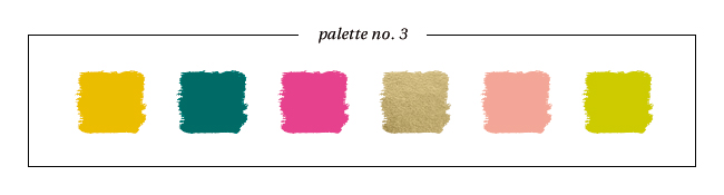 Winter & Holiday 2014 -2015 Inspired Color : Palette No. 3