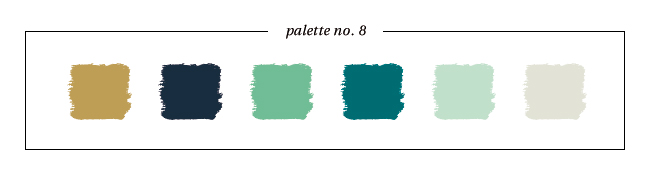 Winter & Holiday 2014 -2015 Inspired Color : Palette No. 8