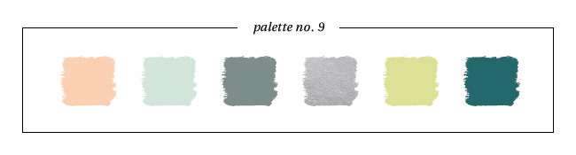 Winter & Holiday 2014 -2015 Inspired Color : Palette No. 9