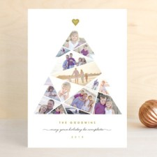 Complete Tree Holiday Photo Cards