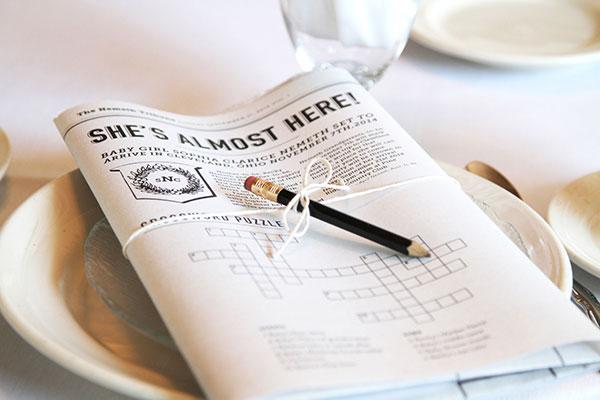 Faux Newspaper Article & Custom Crossword Puzzle   Little Korboose