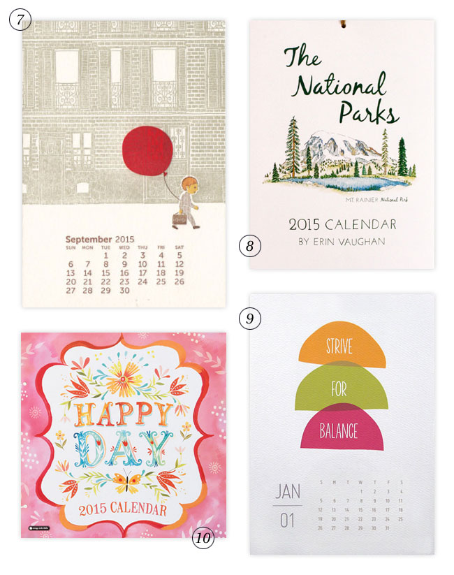 2015 Calendar Designs