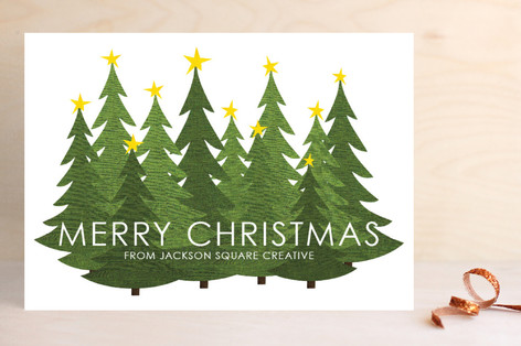 Forest Business Holiday Cards