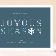 Joyous Season Business Holiday Cards