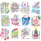Lindsay Letters 12 Days of Christmas (instant digital download)