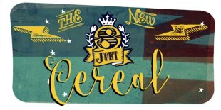 Cereal Font by Andinistas