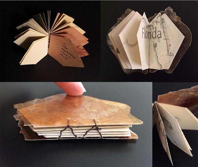 Nature Bound Seashell Miniature Book Detail   Janet Guertin